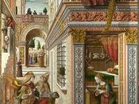 画像は、「聖エミディウスを伴う受胎告知」 (Wikipediaより引用)