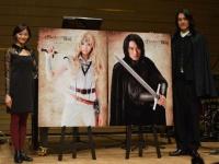 新たに発表された、蕨野友也演じるウォルと佃井皆美演じるリィのメインビジュアル。