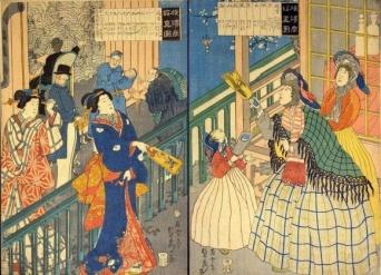 日本人がイメージで描いた西洋人(黒船来航以降、江戸末期から明治)