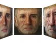 見る角度で3種の顔が変わる。年齢や性別まで変化する不思議なポートレート