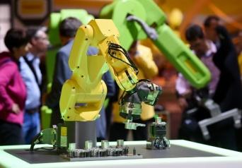 ファナックの産業用ロボット(写真:picture alliance/アフロ)