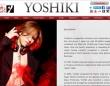 YOSHIKオフィシャルサイトより