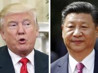 アメリカのドナルド・トランプ大統領(左)と中国の習近平国家主席(右)(写真:AP/アフロ)
