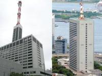 東京電力本社(左)、東京ガス本社(いずれも「Wikipedia」より)
