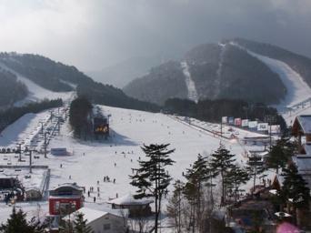 韓国・平昌の竜平スキーリゾート(「wikipedia」より)