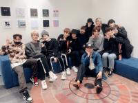 ※BTSとTXTのメンバー。画像はTXTのツイッターアカウント「@TXT_members」より