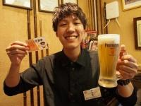 ビール定期券イメージ写真(画像提供:株式会社入船)