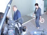 10月9日、東京オリンピックについて就任後初会談した小池都知事と森会長