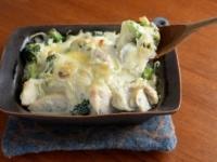 豆腐クリームグラタン