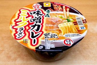 「日本うまいもん 青森味噌カレーミルクラーメン」