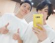 ※ジンとホソク。画像はBTSの公式ツイッターアカウント「@BTS_twt」より