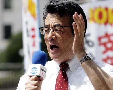 民主党・岡田克也代表(民主党公式サイトより)