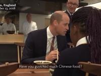 英ウィリアム王子が中国と日本を混同する気まずい瞬間【映像】