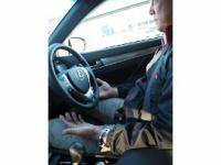 トヨタの自動運転車のデモンストレーション