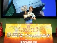 ボートレース宮島SGグランドチャンピオンを制した徳増秀樹選手