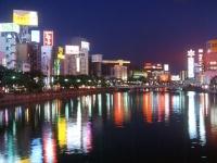 博多中洲の夜景