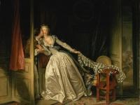 ジャン・オノレ・フラゴナール『The Stolen Kiss』(1786年) 画像は「Wikimedia Commons」より