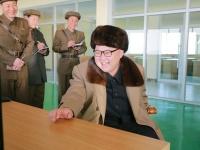 北朝鮮第一書記・金正恩氏(KCNA/新華社/アフロ)