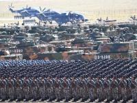 中国人民解放軍建軍90周年 内モンゴル自治区でパレード(写真:新華社/アフロ)