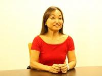 『週1回15分スクワット 還暦でビキニになる!』(みらいパブリッシング刊)の著者、竹村啓子さん