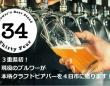 Brewer's Beer Stand 34のプレスリリース画像