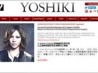 YOSHIKI公式サイトより