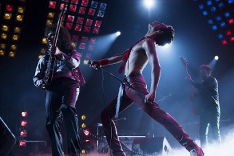 英国のロックバンド「クイーン」のボーカル、フレディ・マーキュリーの波乱に満ちた生涯を描いた『ボヘミアン・ラプソディ』。