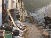 家の周りはひたすらゴミが折り重なっている