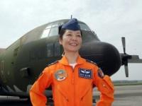 セクハラ被害を訴えた陳月芳大佐。台湾では有名な女性軍人だ