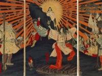 天岩戸神話の天照大神 画像は「Wikipedia」より引用