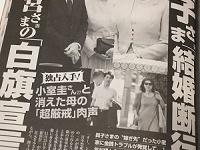 「女性セブン」12月13日号(小学館)
