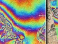 JAXAの観測衛星がカリフォルニア・リッジクレスト地震後の地表の変化を可視化(アメリカ)
