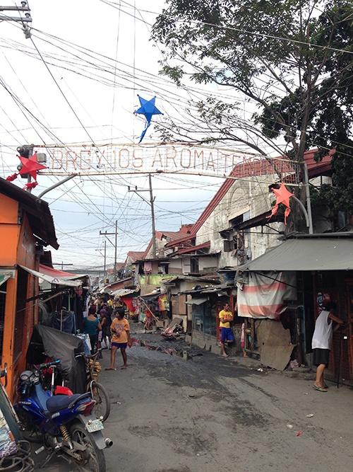 フィリピンのスラム街・トンド地区(写真/丸山ゴンザレス)