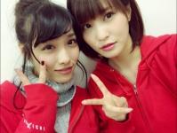 ※イメージ画像:今野杏奈オフィシャルブログより(左・今野杏南、右・岸明日香)