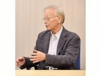 作家の宮崎学氏(撮影=佐々木和隆)