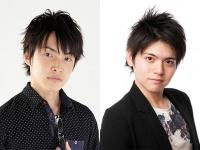 声優の田丸篤志(左)と内田雄馬(右)