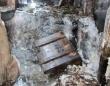 融解が進むのイタリアの雪山の氷の中で発見された第一次世界大戦の遺物