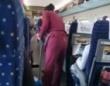 お爺ちゃんが電車の清掃員さんに逆切れ!⇒ヒマワリの種を…
