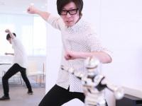 モノブライトのベース・出口博之(撮影:松沢雅彦)