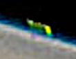 木星の外縁に超巨大な緑色の物体が?