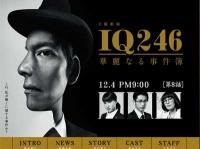 TBS系『IQ246~華麗なる事件簿~』番組サイトより
