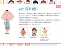 アニメ『ちびまる子ちゃん』公式サイトより。