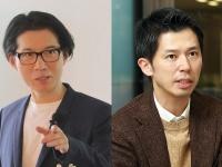 対談を行った神田昌典氏(左)と権田和士氏(右)