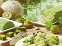 「グリーンスイーツコレクション~抹茶と緑果実~」
