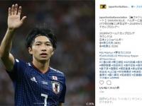 日本サッカー協会(JFA)公式インスタグラム(@japanfootballassociation)より