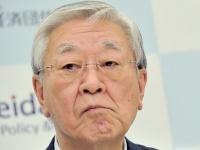経団連の次期会長に内定した中西宏明・日立製作所会長(写真:東洋経済/アフロ)