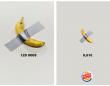 ポテトも概念です。バーガーキングが世間を騒がせた「バナナは概念です」アートに便乗(フランス)