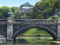 皇居と二重橋(「Thinkstock」より)