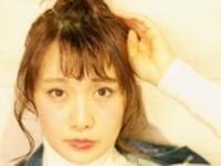 【前髪アレンジ】誰でも可愛い『シースルーバング』に♡お団子×ポンパドールアレンジ!