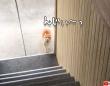 動物界でトップクラスの実力を持つ猫の「だるまさんがころんだ」階段編